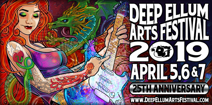 Deep Ellum Art Festival Dallas
